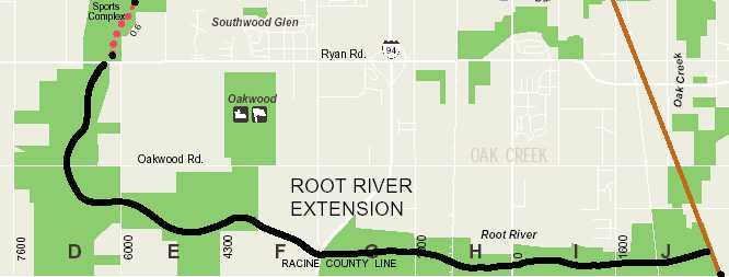 Oak Leaf Trail Potential Extensions